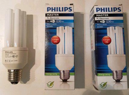 Paramètres de l'ampoule PHILIPS