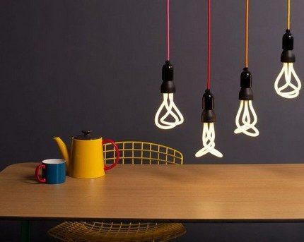 Ampoules compactes à l'intérieur
