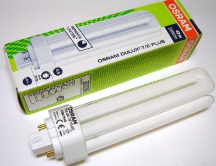 Marquage pour sources lumineuses compactes