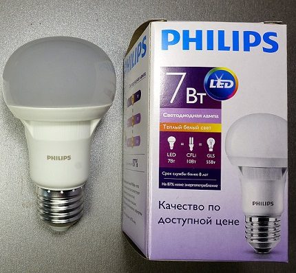 """Phillips"" LED E27"