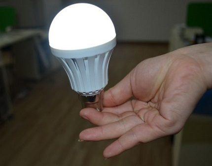 Household LED lamp e27
