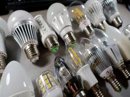 Types of LED Bulbs