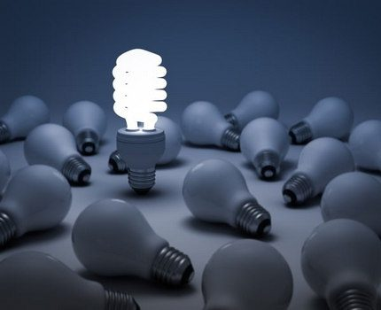 Incandescent lamps and compact luminescent module