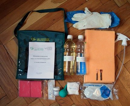 Demercurization Kit