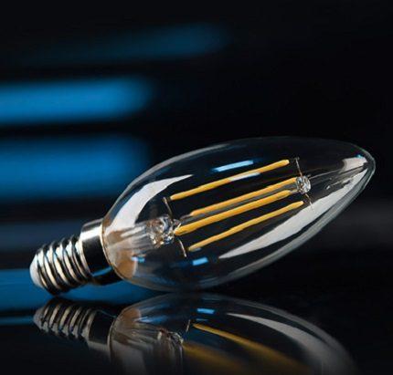 LED à filament de Gauss