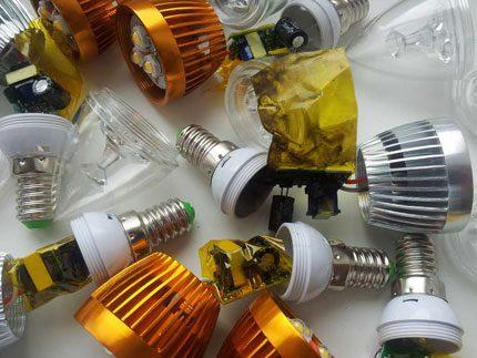 Substandard LED lamps