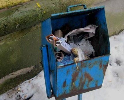 Improper disposal