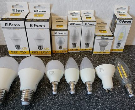 LED lamp with wound base