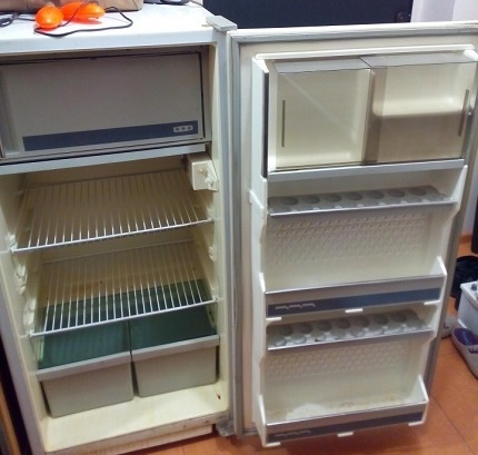 The time of the appearance of Sviyaga brand refrigerators