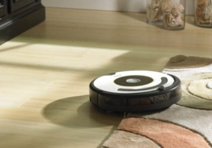 Trajectory of the movement of robotic vacuum cleaners