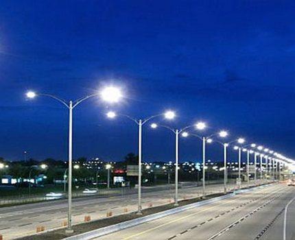 Mercury outdoor lighting system