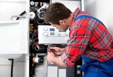Service repair of geysers