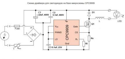 Cpc9909 circuit