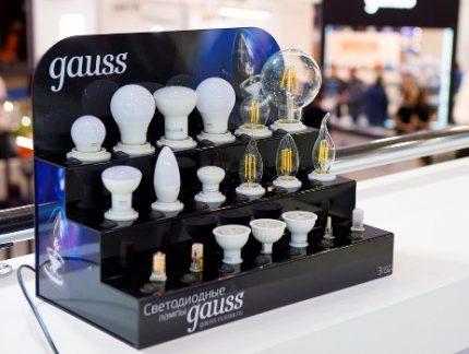 LED Gauss Bulbs
