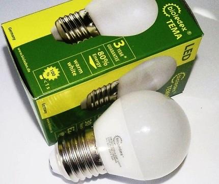 Lampes Bioledex