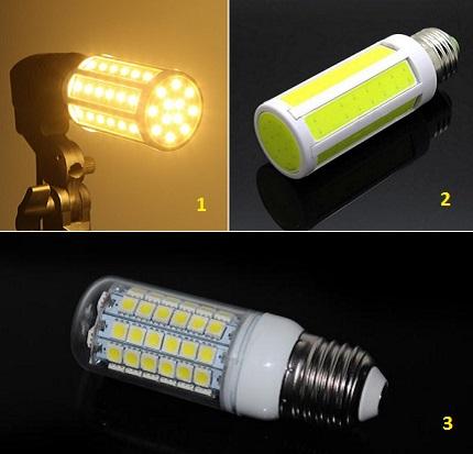 Maïs lampe