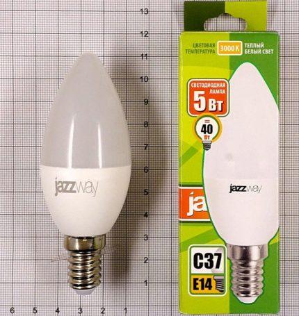 Lampe LED JazzWay e14