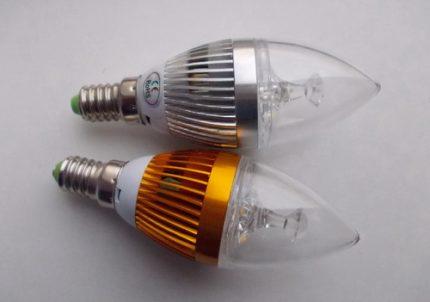 Lampes coniques