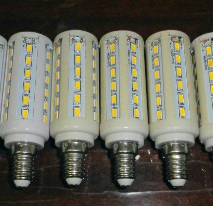 Lampe à maïs LED