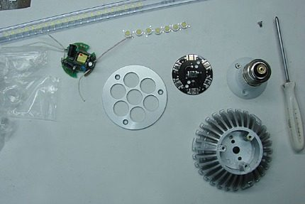 Materials required for assembly