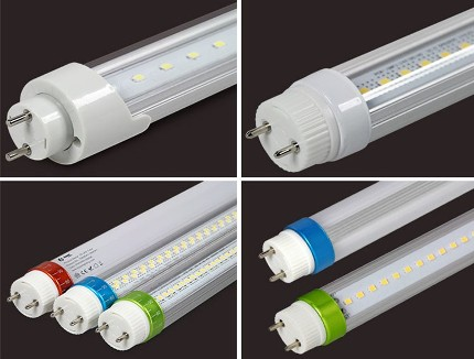 Variety of LED T8 lamps