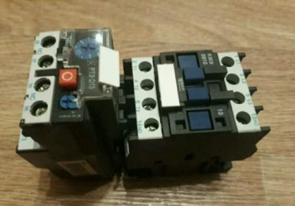 Contactor and thermal relay