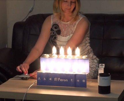 Lamp testing