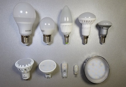 Varieties of LED lamps