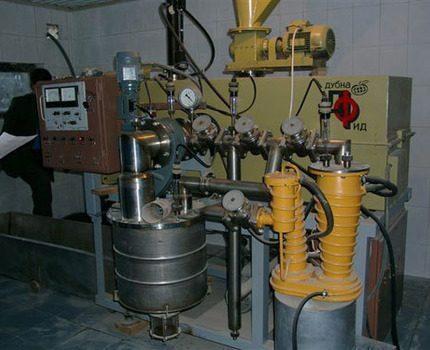 Disposal plant