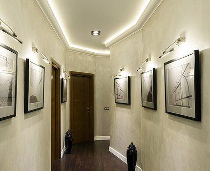 Éclairage LED des images