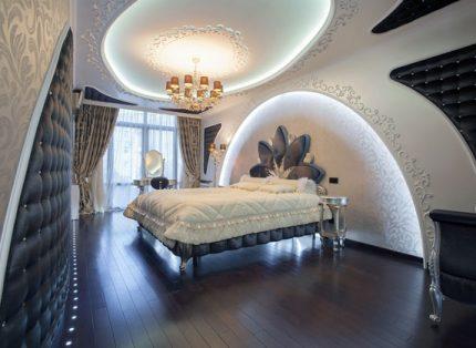 Éclairage LED dans la chambre
