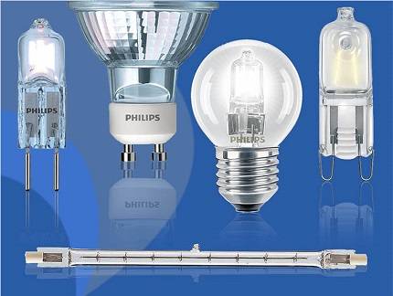 Types of Halogen Lamps