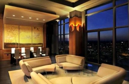 Halogen lamps in the interior