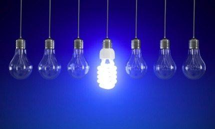Economical fluorescent lamp