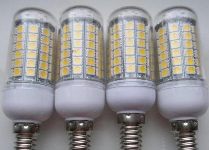 LED bulbs from China
