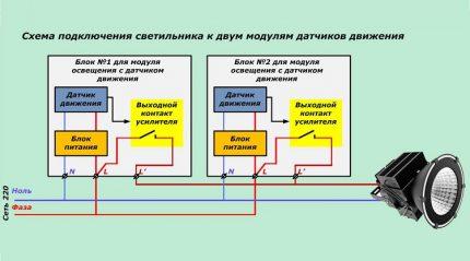 Dual Sensor Circuit
