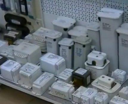 Electromechanical ballasts