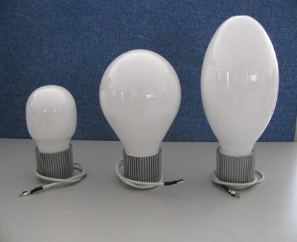 Ball-shaped lamps