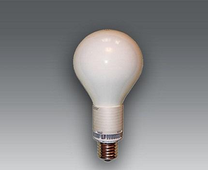 Ball-shaped bulb