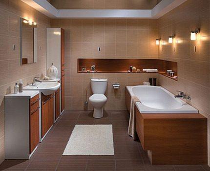 Bathroom lighting system