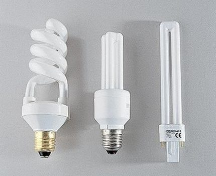 Fluorescent lamps of various configurations