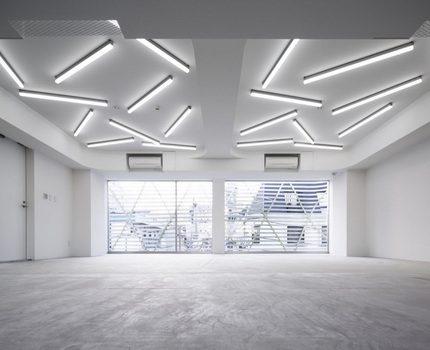 Room fluorescent lighting