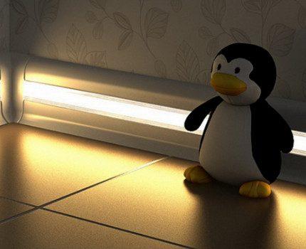 Luminescent lighting in the nursery
