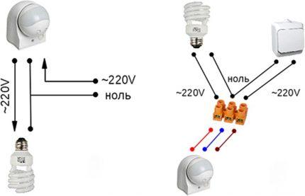 Elektroinstalācijas shēmas
