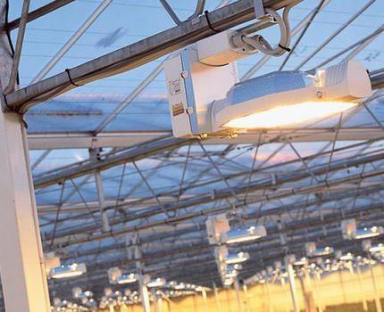 Sodium lamp lighting