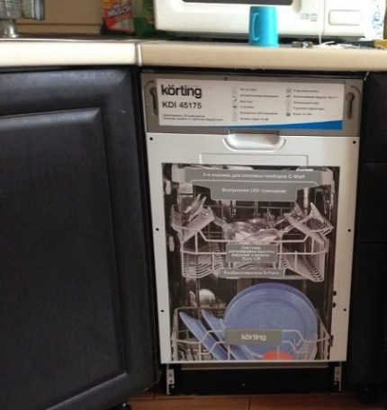 The best place to install a dishwasher