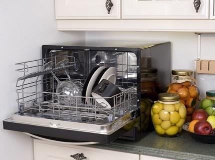 Lave-vaisselle compact