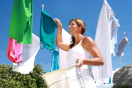 Laundry machines in the country
