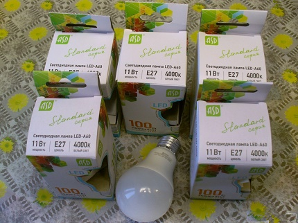 Produits LED ASD