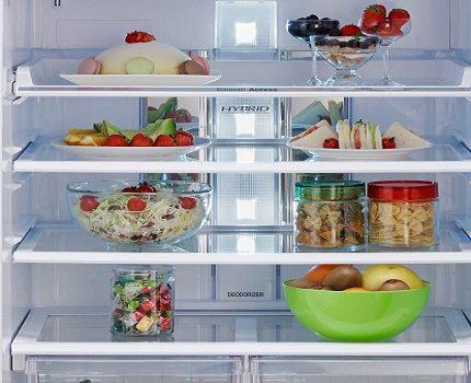Lighting for the refrigerator